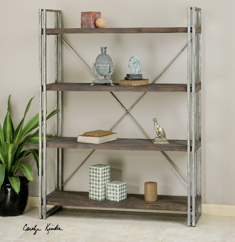 Greeley Metal Etagere - taylor ray decor