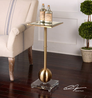 Laton Mirrored Accent Table - taylor ray decor
