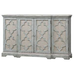 Sophie 4 Door Grey Cabinet - taylor ray decor