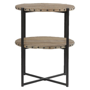 Kamau Round Accent Table - taylor ray decor
