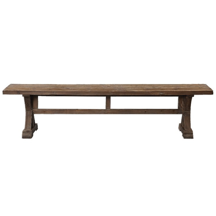 Stratford Salvaged Wood Bench - taylor ray decor