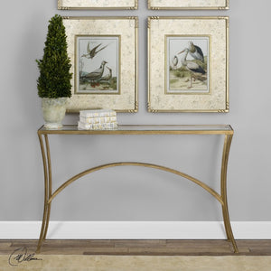 Alayna Gold Console Table - taylor ray decor