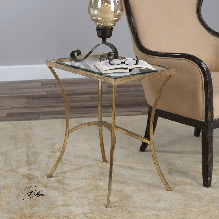 Alayna Gold End Table - taylor ray decor