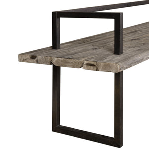 Herbert Reclaimed Wood Bench - taylor ray decor