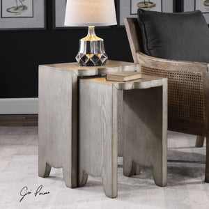Imala Natural Ash Nesting Tables S/2 - taylor ray decor