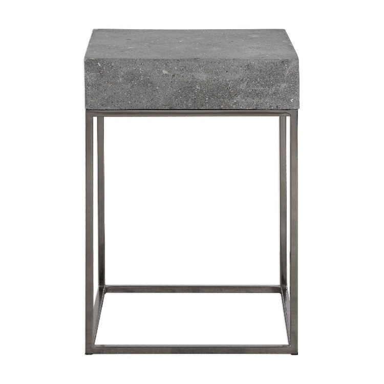 Jude Concrete Accent Table