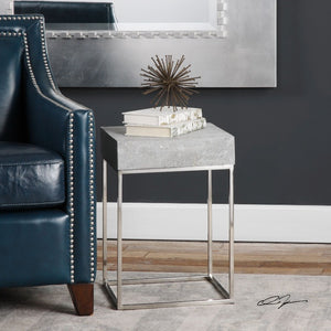 Jude Concrete Accent Table - taylor ray decor