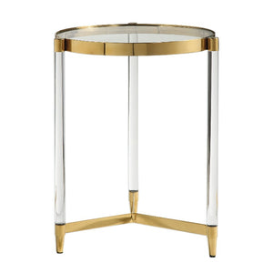 Kellen Glass Accent Table - taylor ray decor