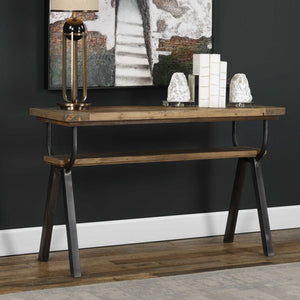 Domini Industrial Console Table - taylor ray decor