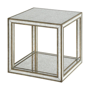 Julie Mirrored Accent Table