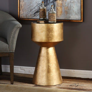 Veira Gold Accent Table - taylor ray decor
