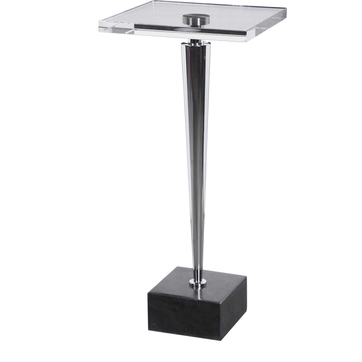 Campeiro Drink Table, Nickel
