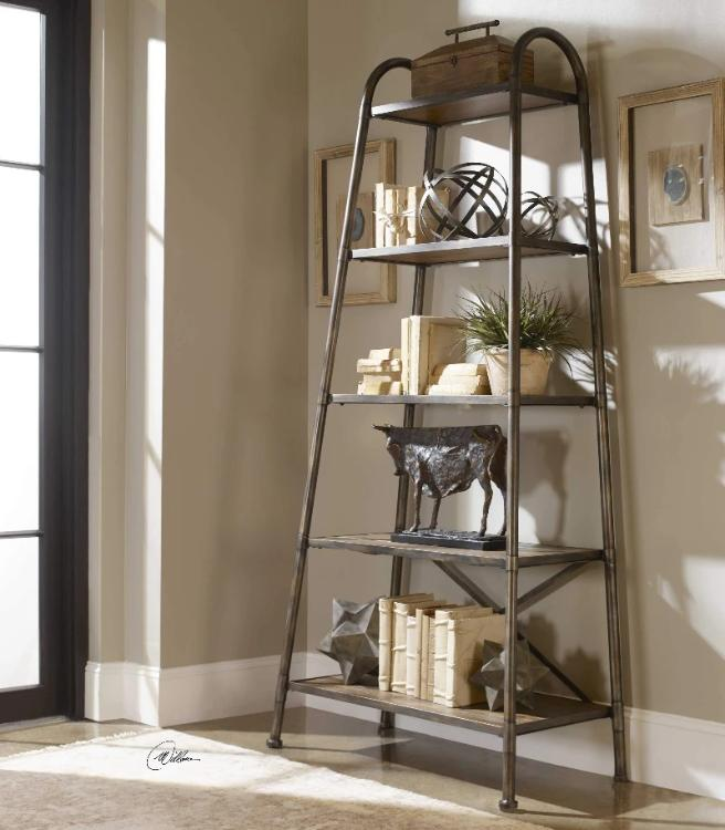 Zosar Industrial Etagere - taylor ray decor