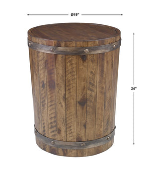 Ceylon Rustic Side Table