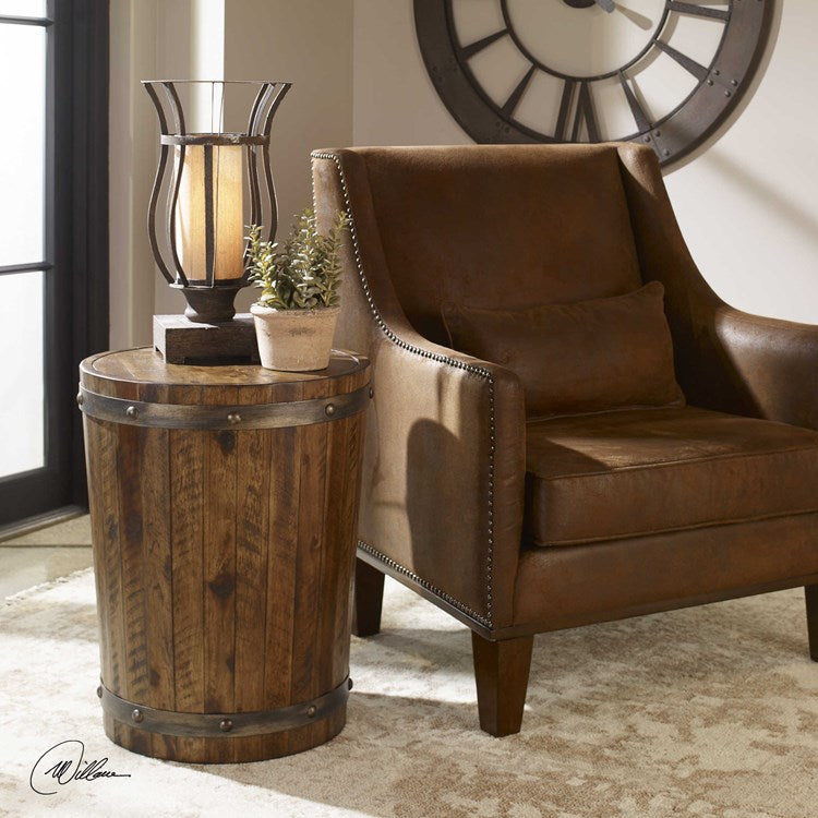Ceylon Rustic Side Table - taylor ray decor