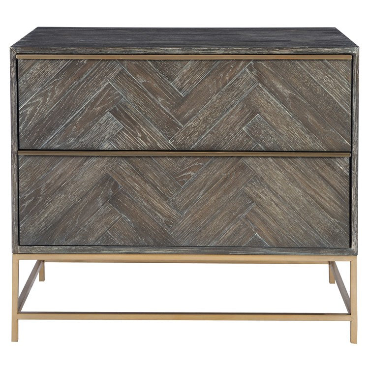 Armistead Walnut Drawer Chest - taylor ray decor