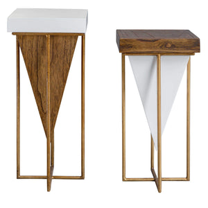 Kanos Side Tables, S/2 - taylor ray decor