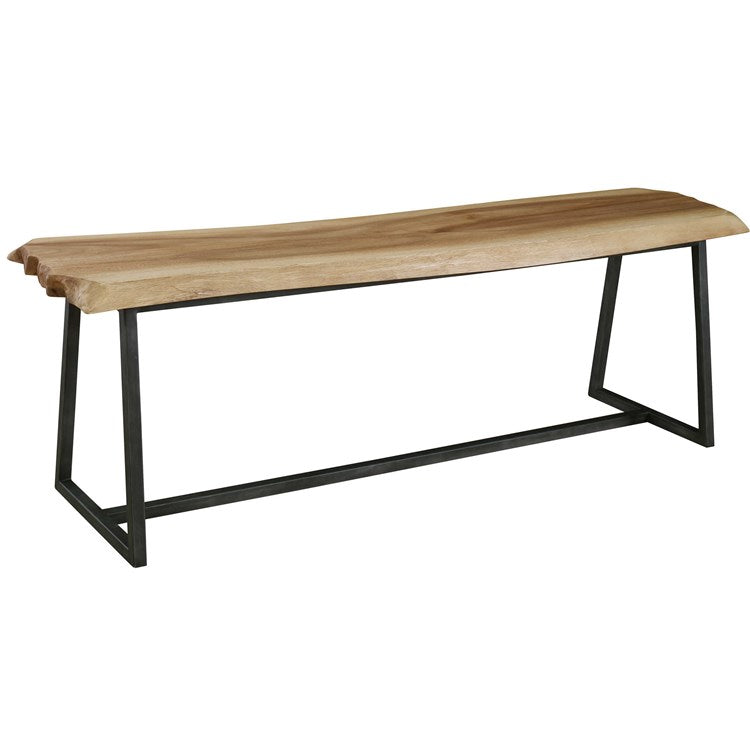 Laurel Rustic Modern Bench