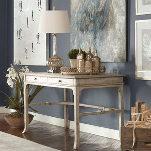 Bridgely Aged Writing Desk - taylor ray decor