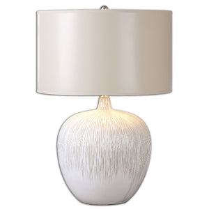 Georgios Textured Ceramic Lamp - taylor ray decor