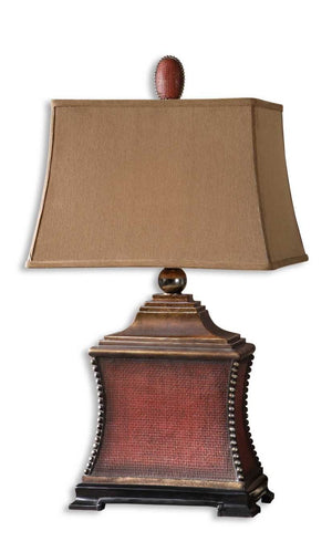 Pavia Red Table Lamp - taylor ray decor