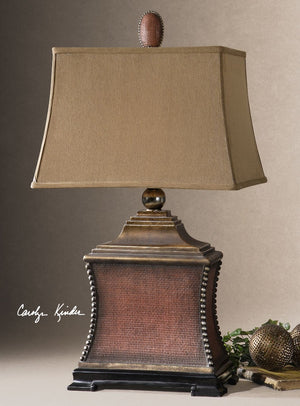 Pavia Red Table Lamp