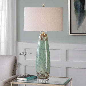 Rovasenda Mint Green Table Lamp