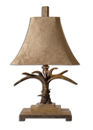 Stag Horn Table Lamp - taylor ray decor