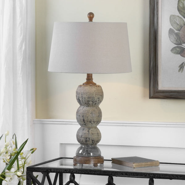 Amelia Textured Ceramic Lamp