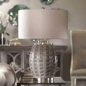 Aura Ash Black Glaze Lamp - taylor ray decor