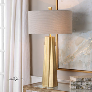 Maris Gold Table Lamp - taylor ray decor