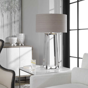 Keokee Stainless Steel Table Lamp - taylor ray decor