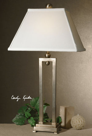 Conrad Silver Table Lamp - taylor ray decor