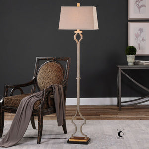 Vincent Gold Floor Lamp - taylor ray decor