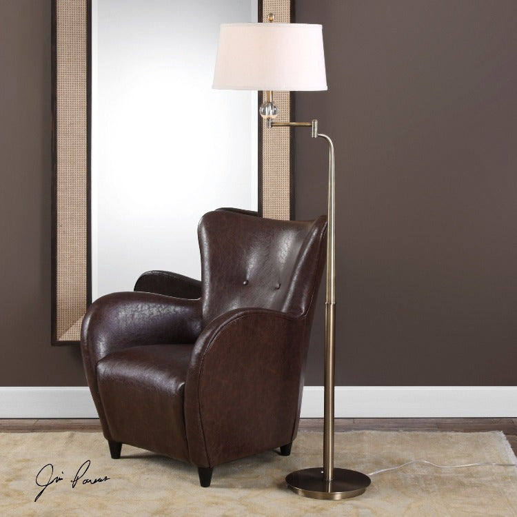Melini Swing Arm Floor Lamp