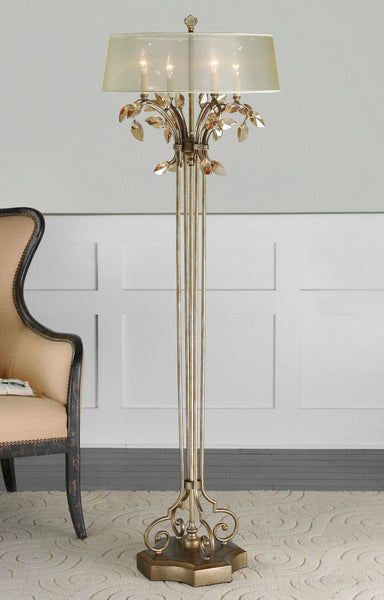 Alenya Gold Floor Lamp