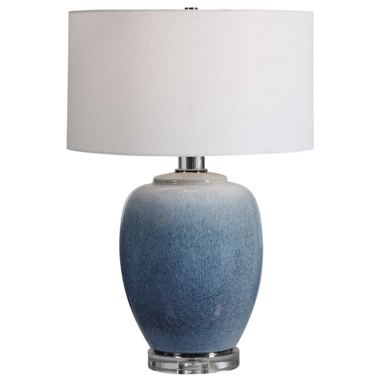 Blue Waters Table Lamp - taylor ray decor