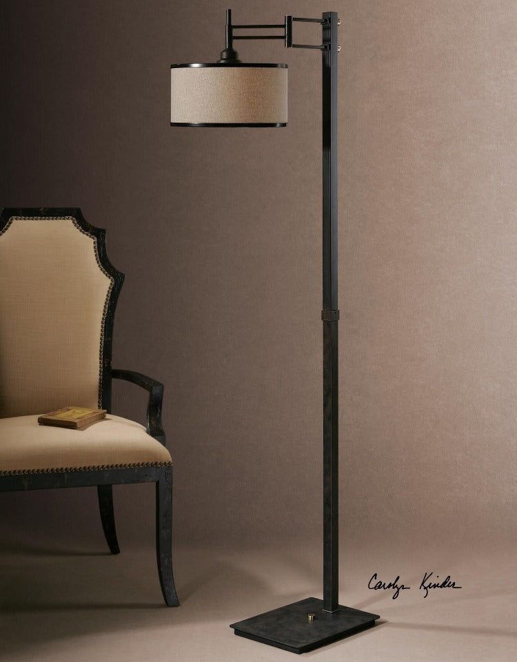 Prescott Metal Floor Lamp - taylor ray decor