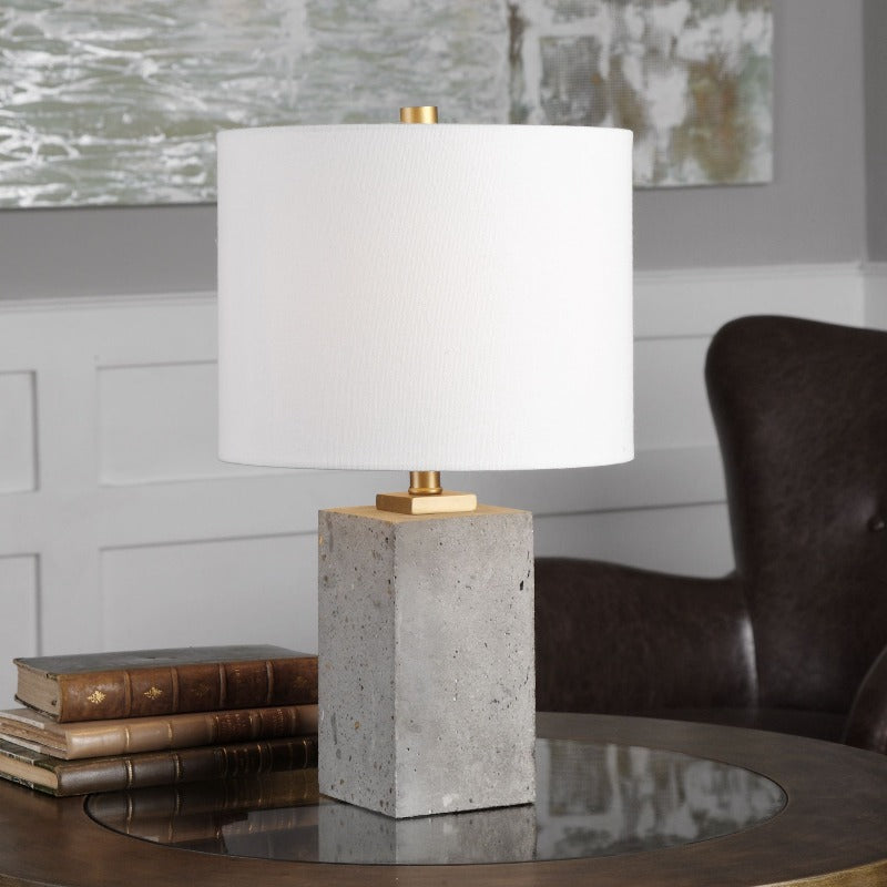 Drexel Concrete Accent Lamp