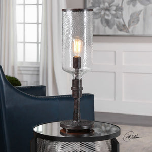 Hadley Old Industrial Accent Lamp - taylor ray decor
