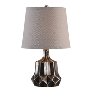 Felice Dark Charcoal Accent Lamp - taylor ray decor