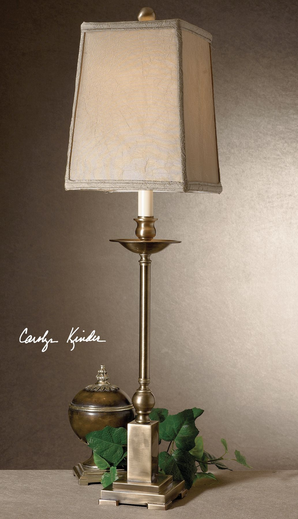Lowell Bronze Buffet Lamp - taylor ray decor