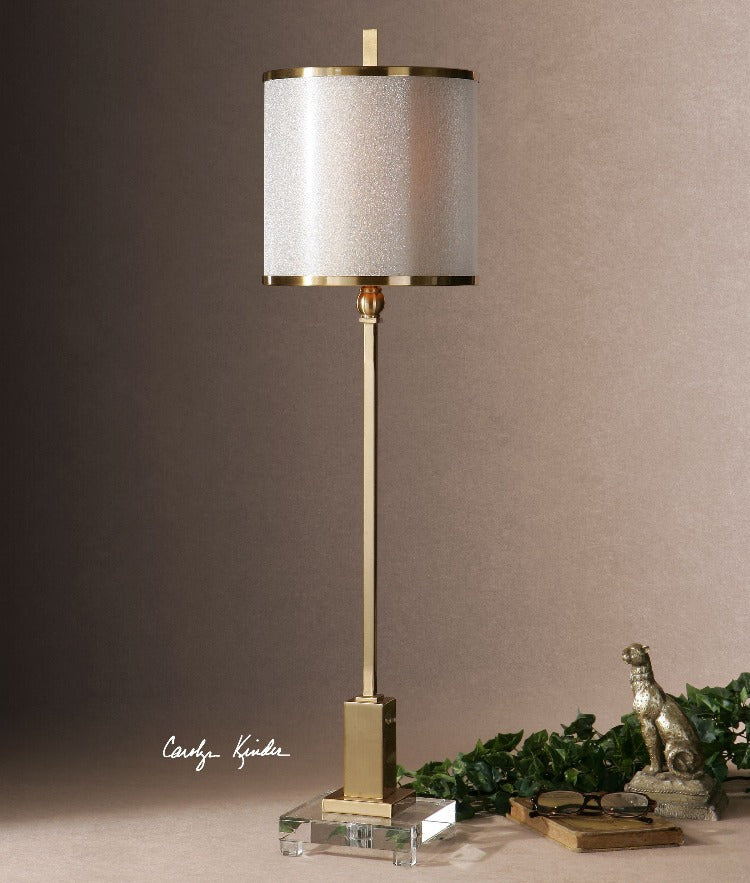 Villena Brass Buffet Lamp