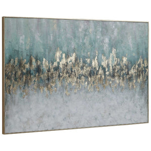 Divide Hand Painted Canvas - taylor ray decor