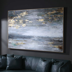 Dawn to Dusk Hand Painted Canvas - taylor ray decor