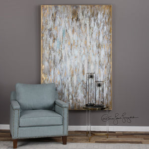 Bright Morning Hand Painted Abstract Canvas - taylor ray decor