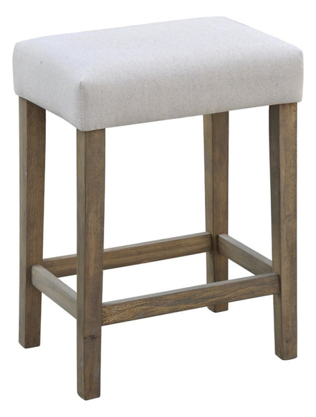 "CLASSIC 24"" SADDLE STOOL - SET OF 2"