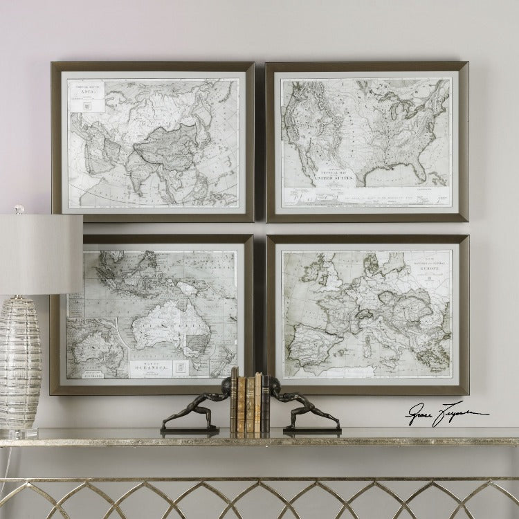 WASHED AWAY  Framed Prints S/4 - taylor ray decor