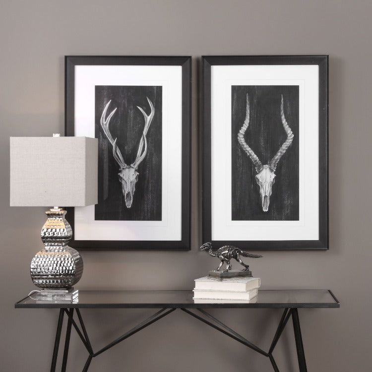 Rustic European Mounts Prints S/2 - taylor ray decor