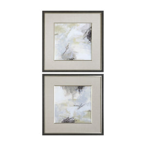 Abstract Vistas Framed Prints S/2